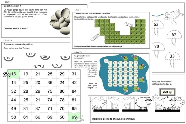 Bien connu Rallye défi et énigme · Semaine des mathématiques NJ41